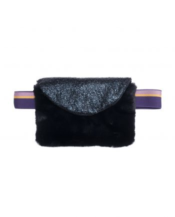 Faux Fur Bag Joplin Black