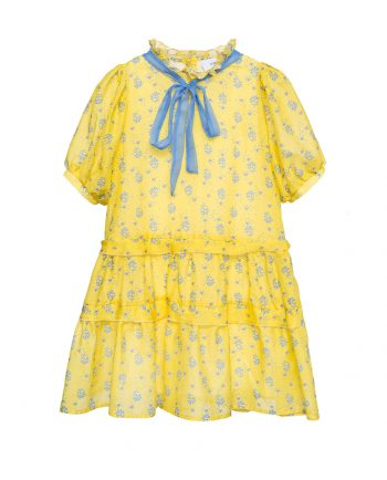 dress violetta yellow